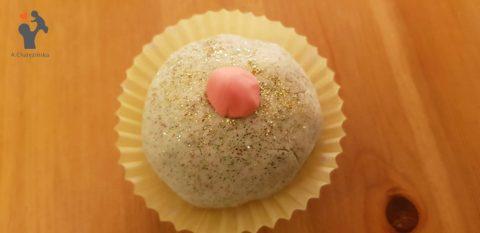 Świąteczna masa sensoryczna/ babeczki kąpielowe DIY o zapachu pomarańczy i cynamonu :-)