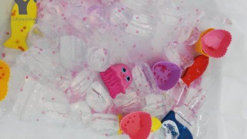 Sensoryczne zabawy lodem :-)