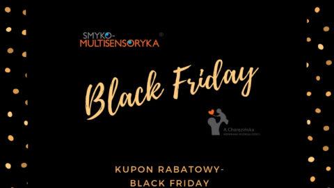 BLACK FRIDAY – 15% zniżki na szkolenia oraz ścieżkę dźwiękową Smyko-Multisensoryka®