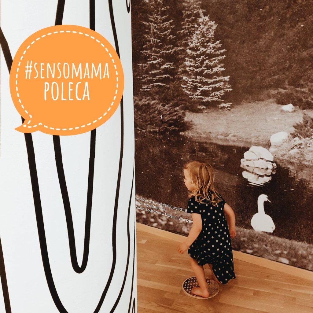Sensomama poleca - wystawa  dla dzieci Praga Sensorycznie w Muzeum Pragi