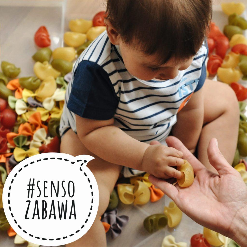 Pasta Love - czyli zabawy sensoryczne z makaronem :-)