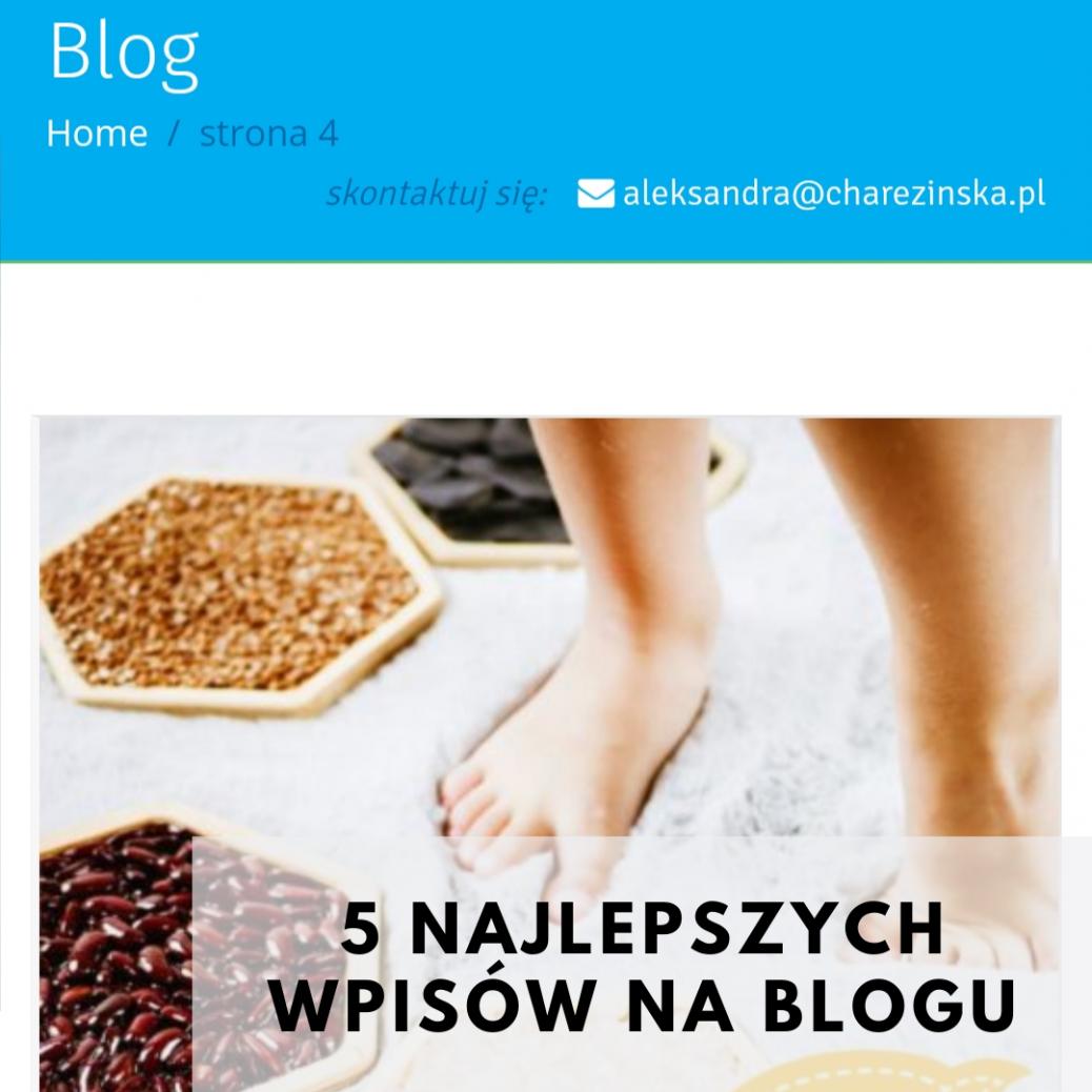 5 najlepszych wpisów na blogu