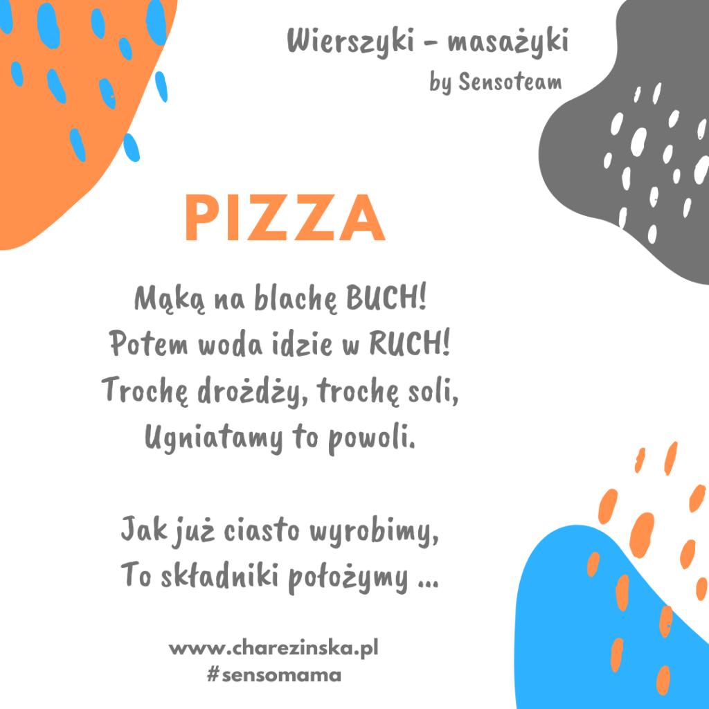 Wierszyki Masażyki - Pizza!